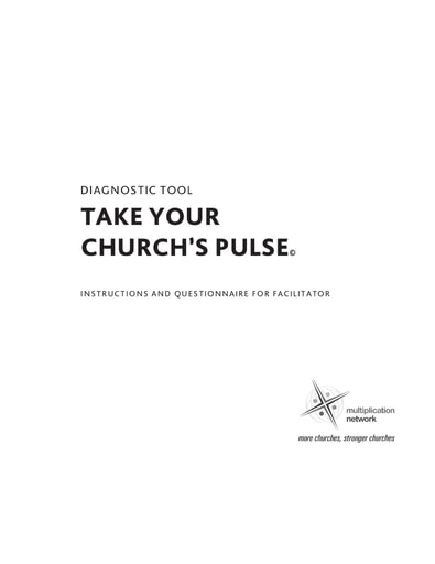 Take Your Church's Pulse Tool
